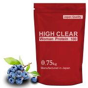 HIGHCLEARハイクリアーWomen'sプロテイン750g(約30回分)爽やかブルーベリー味ウーマン女性レディースHICWOM001