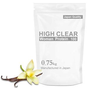 HIGHCLEARハイクリアーWomen'sプロテイン750g(約30回分)バニラ風味ウーマン女性レディースHICWOM001