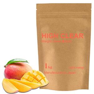 HIGHCLEARハイクリアーウェイトダウンマッハプロテイン1kg(約40回分)さっぱりマンゴー風味HID007