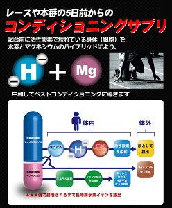 マイナス水素イオンサプリスポーツコンディショニングピーキングサプリメントSAM'SHYDROGENREST絶対に負けられない試合や本番前のコンディショングに!水素サプリ