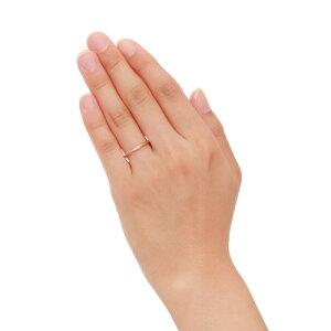【】【送料無料】【THEKISSsweets】【ペアリング】K10ピンクゴールドペアリング(レディース単品)☆ダイヤモンドゴールドペアリング指輪ブランドDiamondGOLDPairRingcouple【_包装】