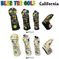【在庫一掃】ブルーティーゴルフカリフォルニアピンボールスマイルUSA5点ヘッドカバーセットBlueteegolfDR用×1FW用×2UT用×1PT用×1