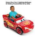 【送料無料】ディズニーピクサーカーズバッテリーカーDisnyPixarCarsLightningMcQueen6VBatteryキッズプレゼント