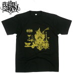 ブラックガニオン BLACK GANION 新作 MELTED CASTLE Tシャツ POPGROUP ポップグループ グラインドコア