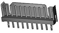 TE Connectivety (AMP) 292161-3 CT P/HDR ASSY V 3P W/KINK NA