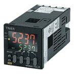 在庫品 オムロン H5CX-A11-N 48×48mm 定時間範囲 0.001s〜9999h AC100〜240V 出力1c 11ピンソケット キープロテクトスイッチ 表面取付、埋込取付共用 デジタルタイマ