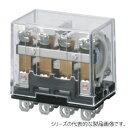 オムロン LY4N-D2 DC24 バイパワーリレー コイルサージ吸収用ダイオード形4極 表示灯付 プラグイン端子