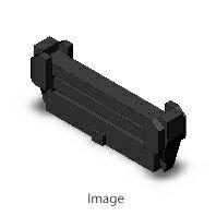 オムロン XG4M-2630-U フラットケーブル用MILコネクタ・MILタイプソケット MILタイプソケットロック付きコネクタ ソケット(オープンエンドカバー付き)+ストレインリリーフセット(ロック付き) 26極画像