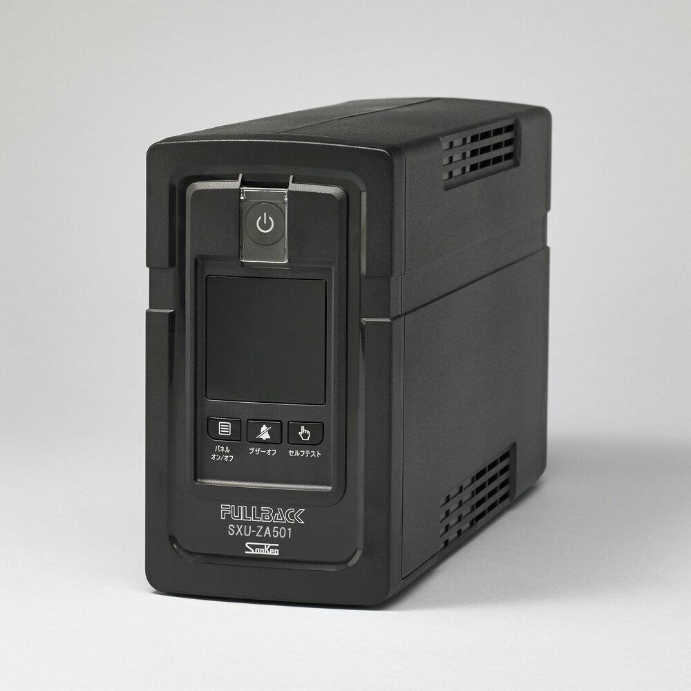 在庫品 FULLBACK SXU-ZA501-S1A サンケン電気 UPS(無停電電源装置)500VA/300W