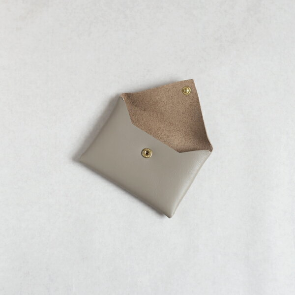CINQ カードケース ブラック グレー アイボリー