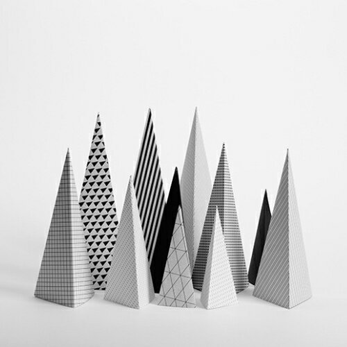 Cinqpoints archifold favor for Triangle concept architecture