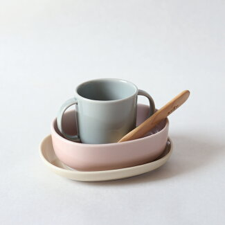 NUPPU子供用子供食器セット陶器波佐見焼子ども用食器ベビー食器セット