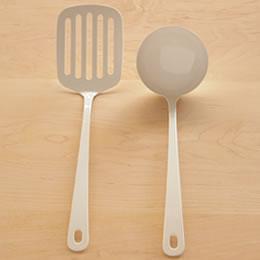 ターナー(白い琺瑯キッチンツール・Blancブランシリーズ)takakuwa636532