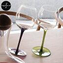 ◆アンバランスさがたまらない◆【北欧デザイン/北欧雑貨/揺れるワイングラス/ワイングラスセッ...
