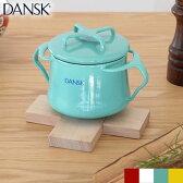 DANSK(ダンスク) 両手鍋 ホーロー ミニココット 0.55L ガス火専用 コベンスタイル ビストロ MINI