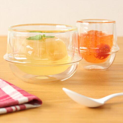KINTO キントー クロノス KRONOS ダブルウォール ティーカップ 200ml 二重構造 グラス 耐熱ガラス