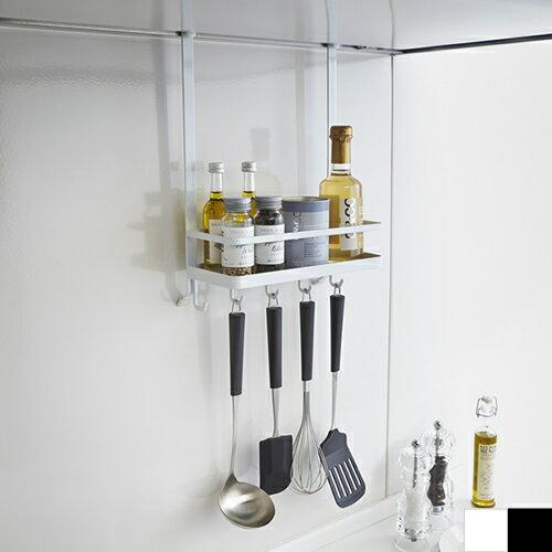 レンジフード調味料ラック tower タワー 山崎実業 レンジフード 換気扇 スパイスラック フック キッチン 収納 ホワイト ブラック