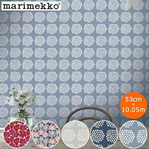 壁紙・装飾フィルム, 壁紙  53cm10.05m marimekko Wallcoverings Marimekko4 PIENI UNIKKO PUKETTI