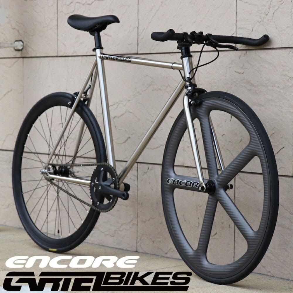 自転車・サイクリング, ピストバイク  CARTEL BIKES AVENUE LO CHROME ENCORE WHEL CUSTOM