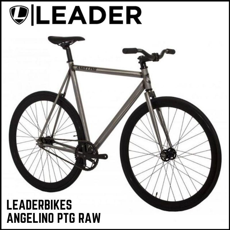 自転車・サイクリング, ピストバイク  LEADERBIKES ANGELINO PTG RAW