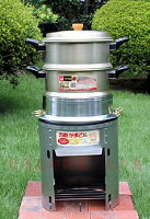 万能かまどS専用アミ付フタ内径30cmアウトドアや野外での調理や炊き出しに!羽釜や鍋での調理、網をセットしてバーベキューに