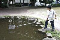 八ツ矢(YATSUYA)ごみとりネット遠くのゴミも取りやすい伸縮ハンドル最長3m、最短2mプール・池・用水路の清掃に