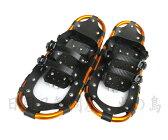 アルミ・かんじき L (収納袋付) スパイク付 アルミ製 ワンタッチ装着式かんじき 雪上・氷上で歩く際に 雪踏み、除雪作業等に