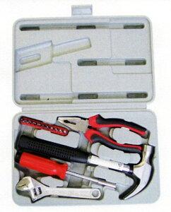 15点工具セット アシスト CTA-1015 家や家具の修繕、日曜大工などに!基本的な工具箱セット