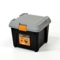 ツールストッカー400強度抜群!工具入れ工場・倉庫の工具整理に家庭での小物・工具類の整理にも便利な工具箱耐荷重80kg踏み台や椅子としても使用可能!日本製