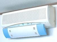 エアーメイトSV-2454エアコンの風の角度を調節冷房と暖房に両方対応体に優しい快適なエアコン風小さなお子様やお年寄りにも最適!