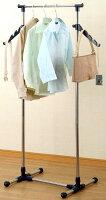 ステンレスカジュアルハンガーミニCDC-752M丈夫で安定感のあるステンレス製洋服掛け場所をとらず衣類やコート、ジャケットなどを掛けるのに最適!さらに小物も掛けれます!