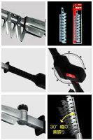 【送料無料】【10周年セール】アルス高枝電動バリカンDKR-1030T-BK替刃式ロングタイプチルト付