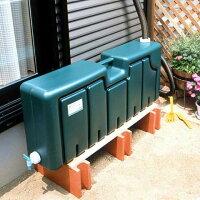 【送料無料】雨水タンク80LEG-01雨どいに簡単接続!工事不要で簡単貯水草花の水やり・洗車・断水時の非常用水に雨水リサイクル貯水タンク【送料無料1225】