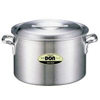 アカオアルミDON半寸胴鍋30cmAS3905材硬質アルミヘアライン加工業務用厨房用品DONシリーズ