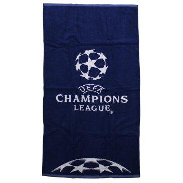 UEFAチャンピオンズリーグ オフィシャル ビーチタオル (70x140cm)【サッカー サポーター グッズ タオル】【スポーツ ホビー】【店頭受取対応商品】