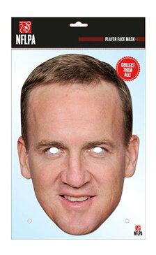 【NFL 公式】ペイトン・マニング パーティーマスク【Peyton Manning】【アメリカンフットボール グッズ 雑貨】(NFLPM01)【スポーツ ホビー】【店頭受取対応商品】