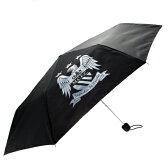 マンチェスターシティ オフィシャル 折りたたみ傘(ブラック)【サッカー サポーター グッズ】