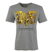 ドルトムントオフィシャルTシャツTRADITIONSVEREIN(グレー)【サッカーサポーターグッズウェア】