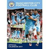 マンチェスターシティオフィシャル2017壁掛けカレンダー【サッカーカレンダー】
