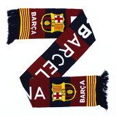 バルセロナオフィシャルマフラーストライプ(BCN29828)【サッカーサポーターグッズマフラー】