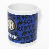 インテルオフィシャルマグカップ(Logo)【サッカーサポーターグッズ】