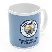 マンチェスターシティオフィシャルマグカップ(MC30996)【サッカーサポーターグッズ】