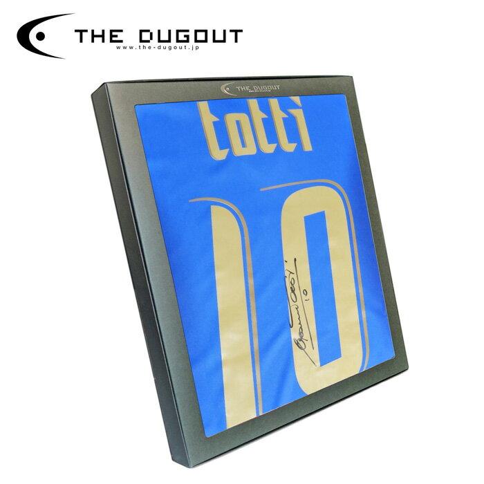 トッティ 直筆サイン入り イタリア代表 2006 ホーム ユニフォーム(化粧箱付き)【THE DUGOUT/ザ・ダグアウト】(TDTI17181)【店頭受取対応商品】