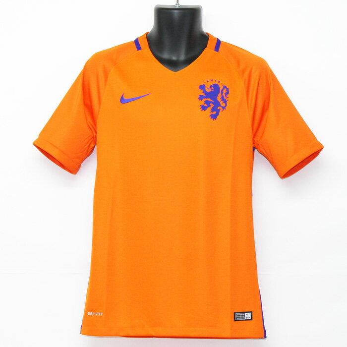 オランダ代表 2016 ホーム 半袖 ユニフォーム【NIKE/ナイキ】【サッカー ウエア レプリカユニフォーム】
