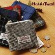 【ポイント10倍】HarrisTweed・ハリスツイード ジップウォレット【コインケース 小銭入れ 財布】