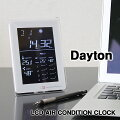 LCD AIR CONDITION CLOCK Dayton・デイトン 電波時計