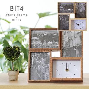 BIT4・ビット4フォトフレーム&クロック