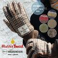Harris Tweed・ハリスツイード WEEKENDER メンズグローブ