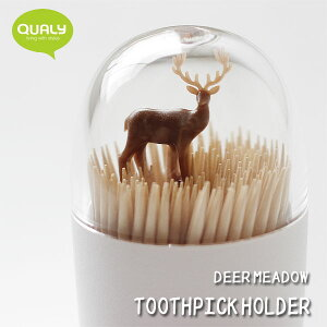 【ポイント10倍】QUALY Toothpick Holder クオリー トゥースピックホルダー【爪楊枝入れ ようじ入れ】