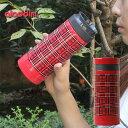 楽天aladdin アラジン AVEO SS チェックタンブラー 0.3L【保温 保冷 ステンレス 魔法瓶 水筒 レッドチェック】